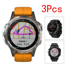 3 X 9H Transparent Clear Screen Protection HD Film For Garmin Fenix 5X