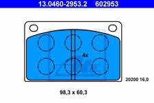 Bremsbelagsatz Scheibenbremse - ATE 13.0460-2953.2
