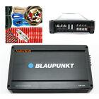 BLAUPUNKT CAR AUDIO 4 CHANNEL AMP AMPLIFIER 1500W | AMP1604 + AMP KIT 4 GAUGE