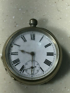Rare Depose Argentan Pocket Watch