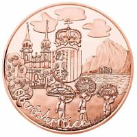 Österreich 10 Euro 2016 Oberösterreich aus Kinderhand Kupfermünze bankfrisch