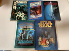 Star Wars Book Lot Empire Jedi Heir To The Empire Book One 1976- 1997 Lot Of 5