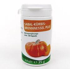 Sabal Kürbis Brennnessel Plus - 60 Kapseln mit Kürbiskern-, Sägepalmextrakt