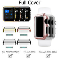 Apple Watch Series 3 / 2 38mm/42mm Snap On Full Body Cover Case+Screen Protector
