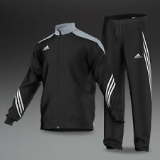 adidas Mens Black Silver White Sereno Tracksuit Top F49712 Size L