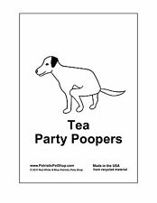 Tea Party Poopers Dog Waste Bags