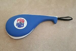 Pro Force Lightning Hand Paddle AWMA Blue Paddle MMA Martial Arts