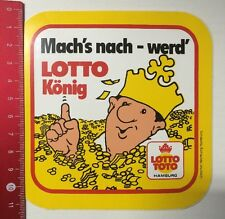 ADESIVI/Sticker: LOTTO TOTO-apri 's dopo-ora tutto LOTTO re (050316146)