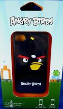 NEW & SEALED Gear4 iPhone 4 Cover ANGRY BIRDS BLACK BOMBER Collectable - In Aust