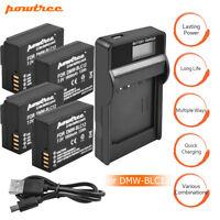 DMW-BLC12 Battery+Charger For Panasonic Lumix DMC-GH2 G5 G6 GX8 G85Powtree EG
