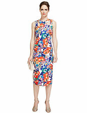 RRP £79 ex Marks and Spencer Per Una Speziale Floral Bodycon Dress Sizes 6 - 22