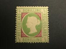British Heligoland Stamp # 56 Mint Og H $475 - Lot #68