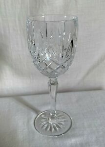 "Cristal d'Arques Durand ""Provence"" wine crystal glass. 7"" h"