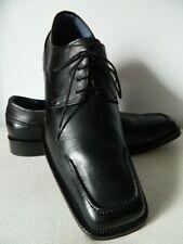 KENZO chaussures lacets homme derbies TOUT CUIR noir 8 42 TRES BON ETAT