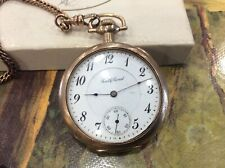 16S 17 Jewel Serial 523594 Antique 1908 South Bend Pocket Watch