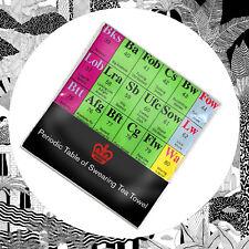 Modern Toss Periodic Table Of Swearing Tea Towel- Rude Word UNT Type Swear New