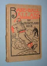 1910  *  BASE-BALL BALLADS  *  by Grantland Rice