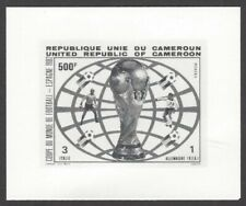 Cameroun Football World Cup Spain 1982 500f photographic proof