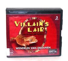 Book/Audiobook Cd Age 8+ Wendelin Van Draanen Gecko And Sticky Villain'S Lair