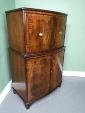 An Antique Style Mahogany Cocktail Cabinet ~Delivery Available~