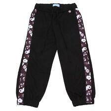 4812W pantalone tuta bimba LANVIN girl black sweatpant