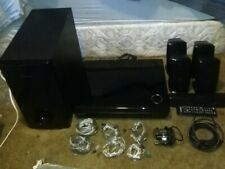 Samsung DVD Bluray 5.1Ch, HDMI,LAN Receiver HT-BD1250 w/5 speakers and subwoofer