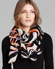 NWT Diane Von Furstenberg Security Blanket Scarf, Tiger Shadow Print RV$165