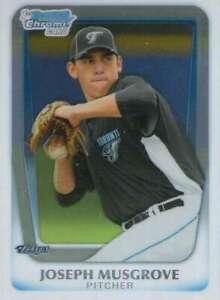 2011 Bowman Draft Chrome Prospects #BDPP62 Joseph / Musgrove San Diego Padres