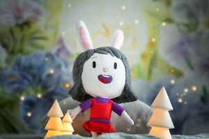 Elinor plush inspired by Elinor Wonders Why, handmade toy, 16 in, made to order