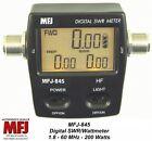MFJ 845 Digital SWR/Power/Wattmeter HF, 1.8 - 60 MHZ, 200 Watts Mobile/Base