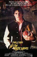 All The Right Moves movie poster -  11 x 17 inches - Tom Cruise poster