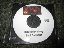 Halloween Pumpkin Carving Printable Stencils - 303 Patterns in PDF on CD