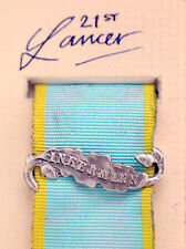 British Cavalry Army The Crimea Medal Clasp or Ribbon Bar Inkermann Silver