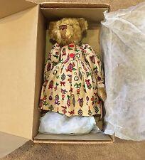"NIB Barton's Creek Collection Gund  ""Buttons"" 14"" Bear by Artist Marsha Friesen"