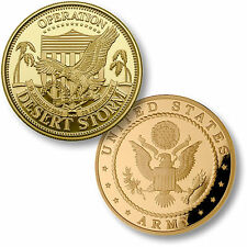 U.S. Army / Operation Desert Storm - Challenge Coin