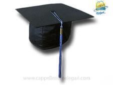 """cappello da laurea """"tocco"""" tesi di laurea università  College Hat azzurro"""