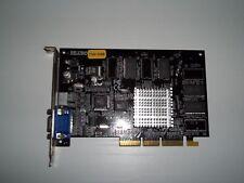 SCHEDA VIDEO AGP Siluro T200 32Mb Video Graphics Card GPU VGA S-Video PERFETTA !