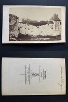 Guipet, château de Dijon Vintage albumen print CDV.  Tirage albuminé  6,5x10