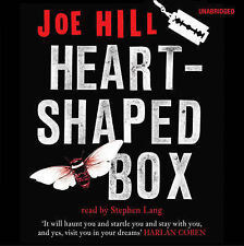New sealed Heart-Shaped Box, Joe Hill, Audio Book 9CD