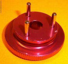 RC Nitro Engine 3 Pin Shoe Flywheel Aluminium Red 1/8 Scale Buggy .21 + Sizes