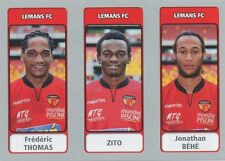 N°590 THOMAS - ZITO - BEHE # LE MANS.FC STICKER PANINI FOOT 2012