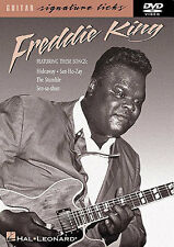 Freddie King Learn to Play Blues Jazz Rare Lesson Tutor Guitar Music DVD