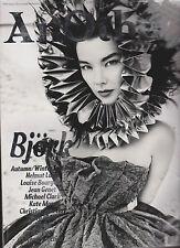AnOther Magazine #19 F/W 2010, Björk Lindsey, Wixson Jessica, Stam Kirsten Owen.