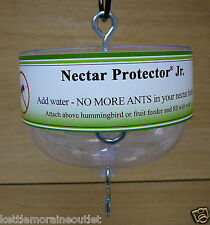Hummingbird Feeder Ant Moat Nectar Protector Jr Clear Save Nectar SE624 No Ants