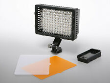 Pro LED video light for Panasonic AVCHD HD HDV 3D camcorder camera lite panel