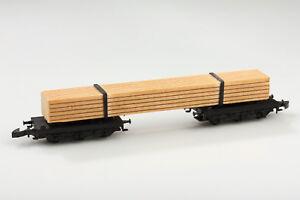 Märklin Z 8619 Long Wood Cart Turntable Dirt/Scratch/Defects Boxed