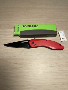 Schrade SCHA9R Shark Land Spring Assisted Folding Knife Taiwan Discontinued