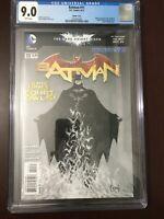 Batman #11 Sketch Cover Variant CGC 9.0 2012 Scott Snyder Greg Capullo