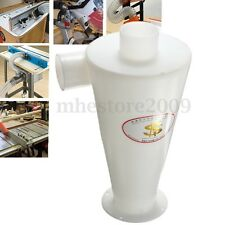 Cyclone Powder Dust Separation Collector Filter For Vacuums Cleaners Plastic ABS
