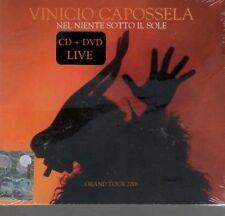 VINICIO CAPOSSELA NEL NIENTE SOTTO IL SOLE CD DVD SIGILLATO!!!